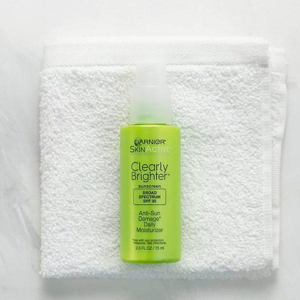 Garnier Clearly Brighter Anti-Sun Damage Daily Moisturizer SPF30 75ml