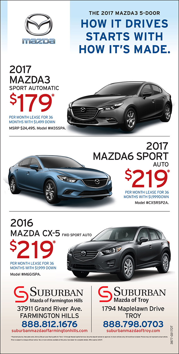 Suburban Mazda Of Troy Mi Coupons To Saveon Cars