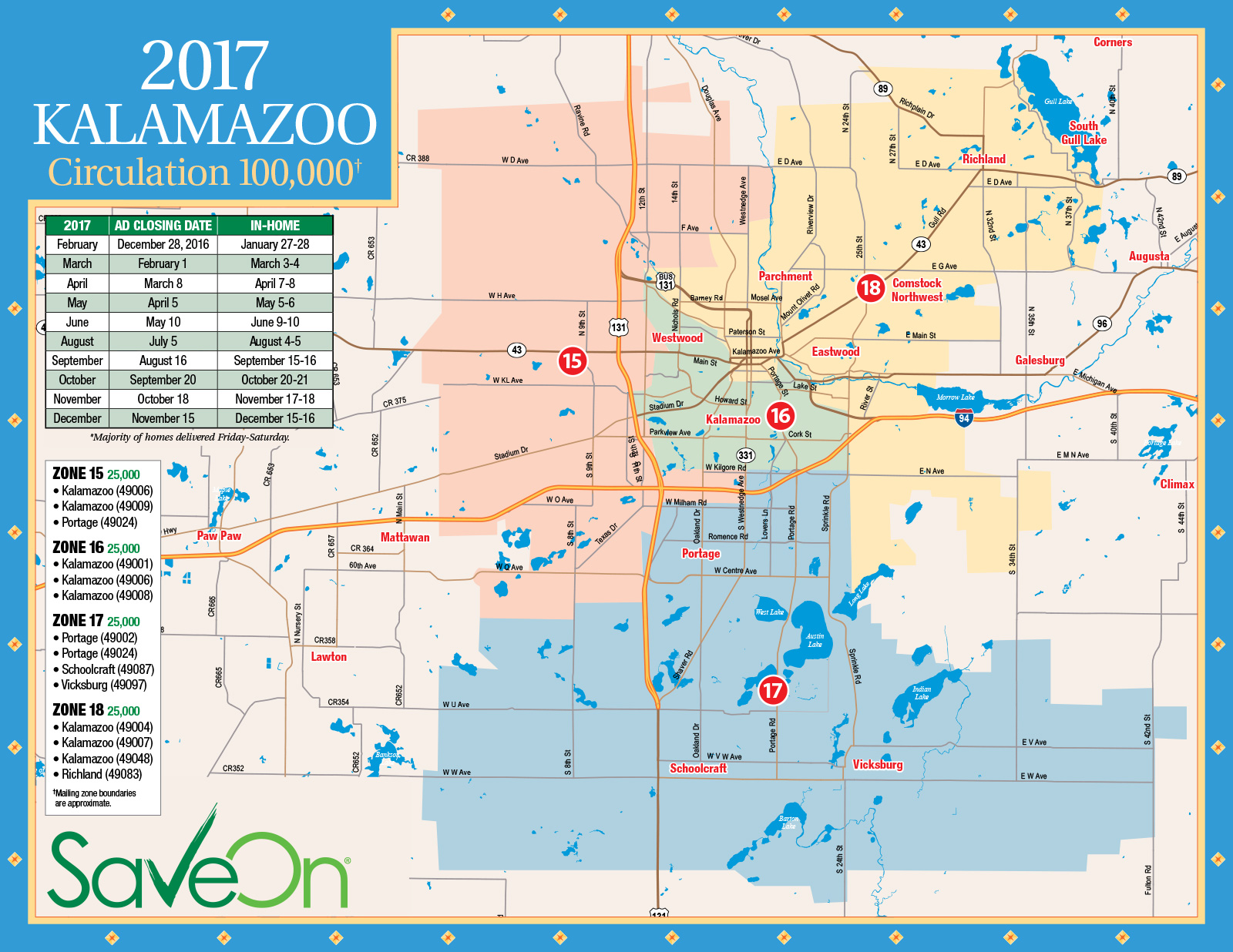 Kalamazoo Zip Code Map zip code for kalamazoo michigan