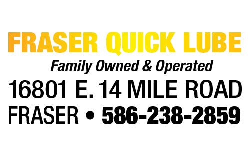 Fraser Quick Lube Coupons in Troy, MI