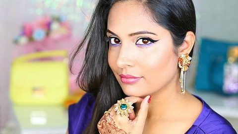 Profile photo of shrutiarjunanand, a youtube makeup and beauty guru