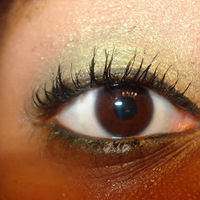 Clinique Naturally Glossy Mascara Swatch