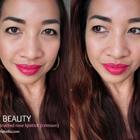 Bite Beauty Deconstructed Rose Lipstick Swatch