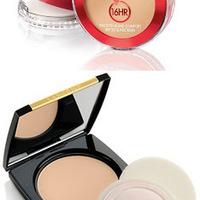 Lancome DUAL FINISH - Versatile Powder Makeup Swatch