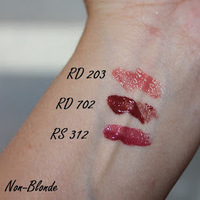 Shiseido Lacquer Rouge Swatch