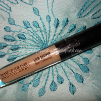 Make Up For Ever Lab Shine Lip Gloss Swatch