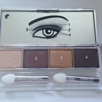 Clinique All About Shadow - Quad Swatch