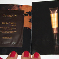 Guerlain Terracotta Skin Healthy Glow Foundation Swatch
