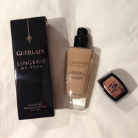 Guerlain Lingerie De Peau Invisible Skin Fusion Foundation SPF 20 Swatch