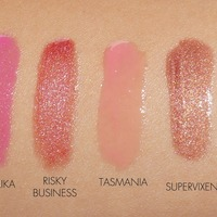 Lipgloss swatches