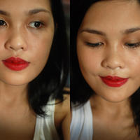 MAC Russian Red Lipstick Swatch