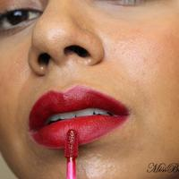 Hourglass Opaque Rouge Liquid Lipstick Swatch
