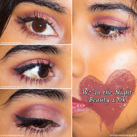 W7 in the night palette   beauty look 2