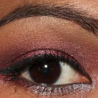 Maybelline Pomegranate Punk Eyeshadow Swatch