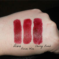 MAC Diva Lipstick Swatch