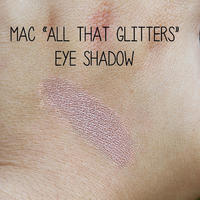 MAC All That Glitters Eyeshadow Swatch