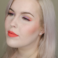 Anastasia Beverly Hills Neon Coral Lipstick Reviews, Swatches, and ...