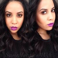 MAC Heroine Lipstick Swatch