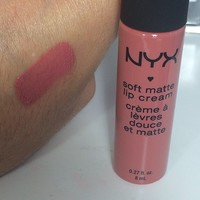 NYX Cannes (SMLC19) Lip creme Swatch