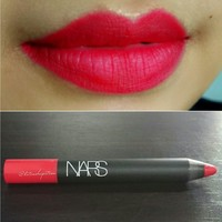 NARS Dragon Girl Lip crayon Reviews, Swatches, and Dupes ...