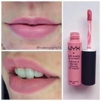 NYX Istanbul (SMLC06) Lip creme Swatch