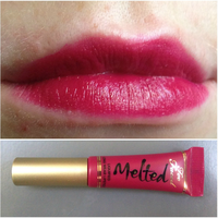 Too Faced Melted Berry Lipstick Swatch