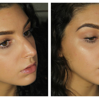 104   natural dewy   glowy makeup