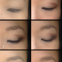 Nonsonoquitter it girl eyeshadow tutorial for asian hooded eyes claire marshall inspired
