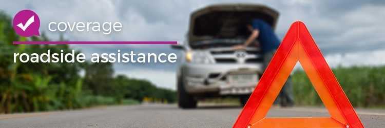 2018 05 29 Roadside Assistance Coverage Broken Down Car Emergency Triangle