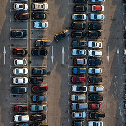 2019 01 15 Cars Parked In Airport Lot