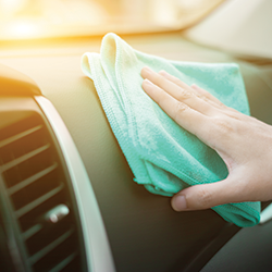 2019 03 15 Cleaning Dashboard With Microfiber Towel Teaser