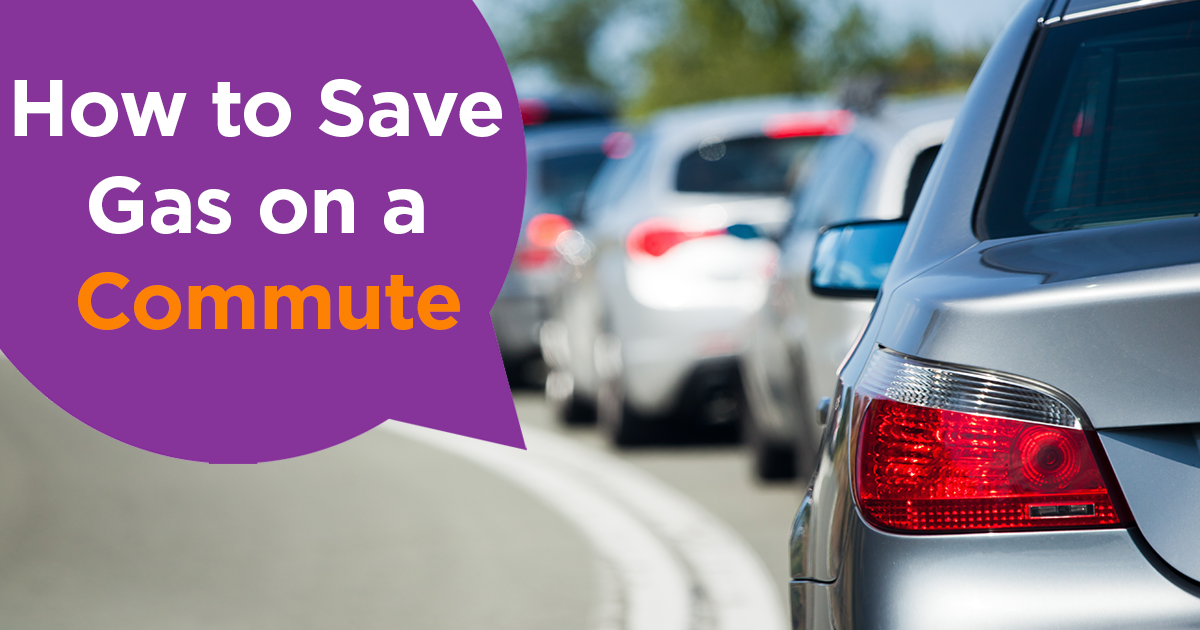 How to Save Gas on a Commute header