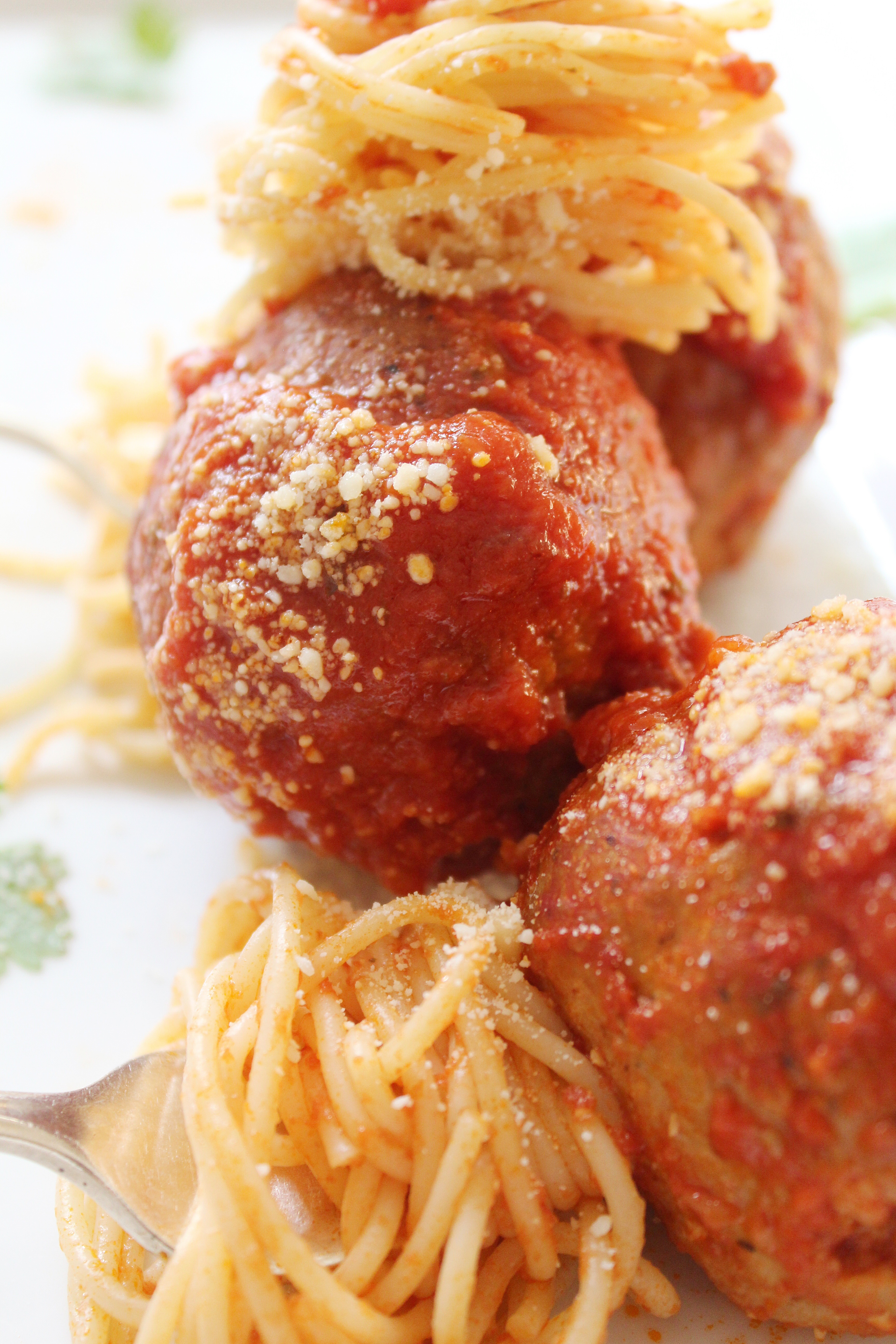 Giant Turkey Meatballs