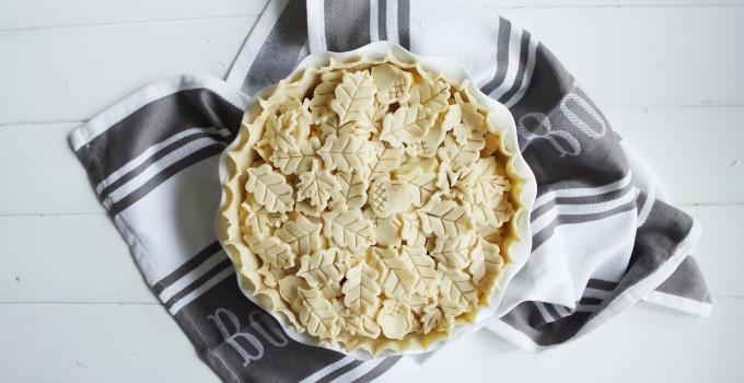 Winter Pie with Summer Fruit