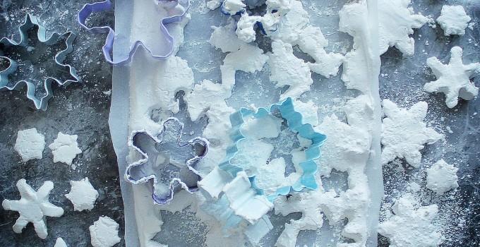 Snowflake Marshmallows