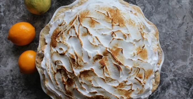 Mile High Meyer & Pink Lemon Meringue Pie