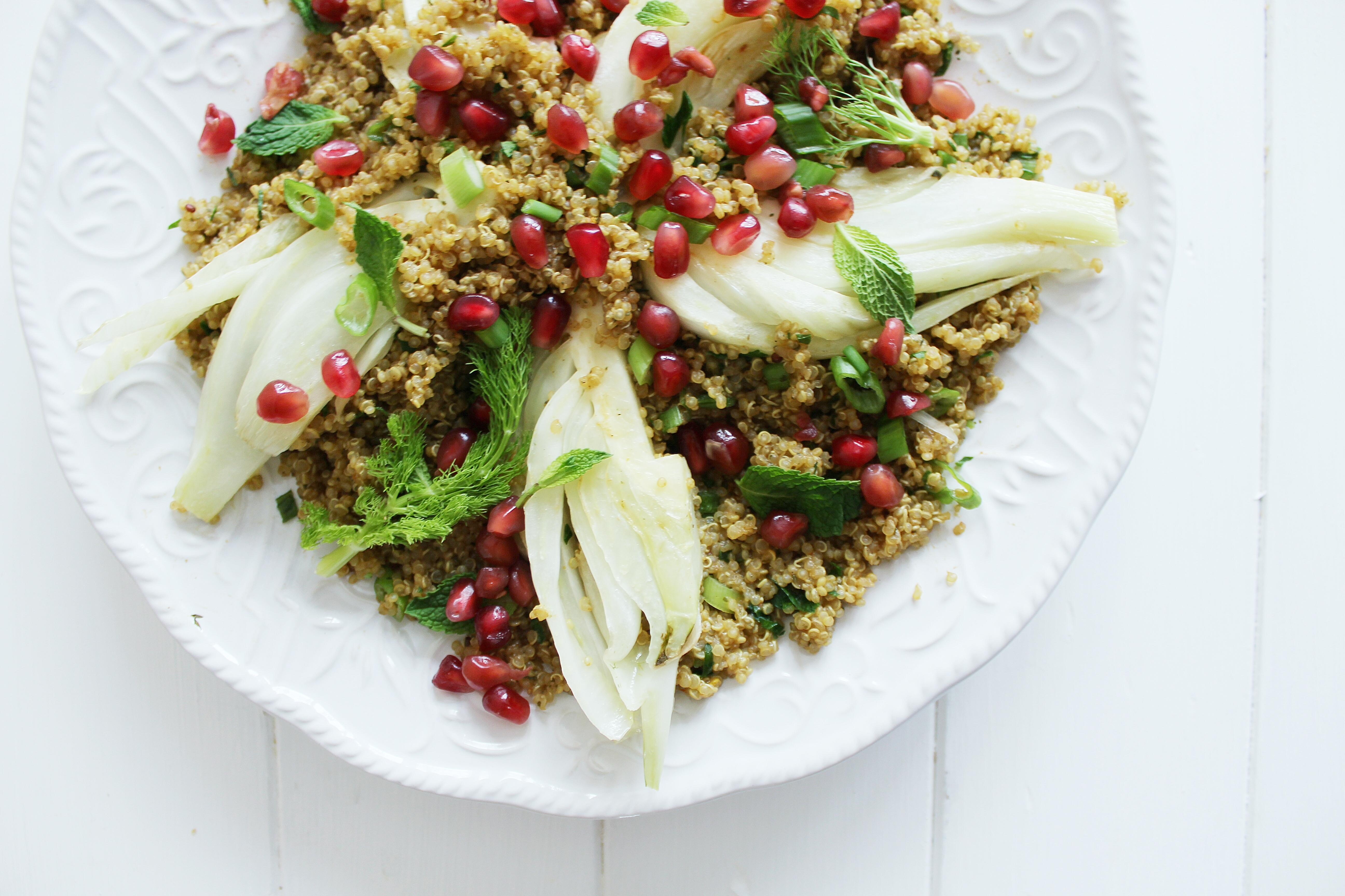 quinoa & fennel