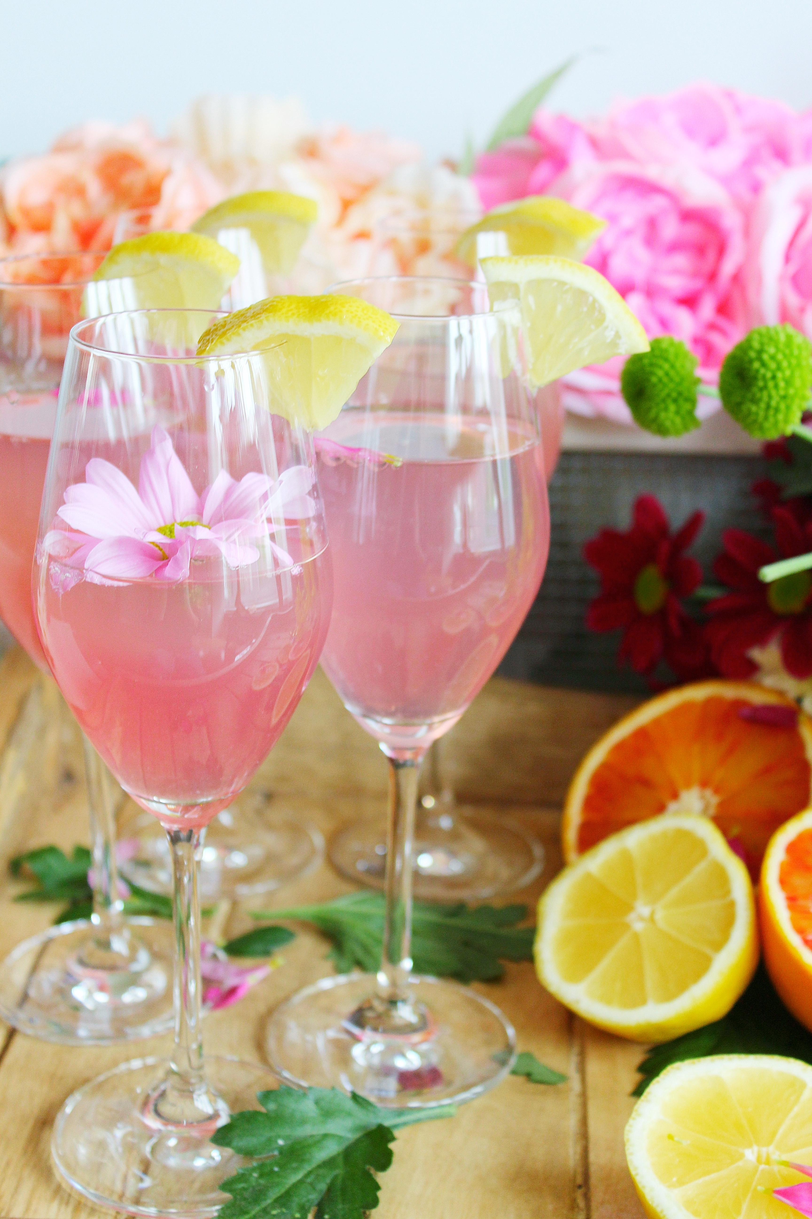 Sour Lemon Pink Mimosa
