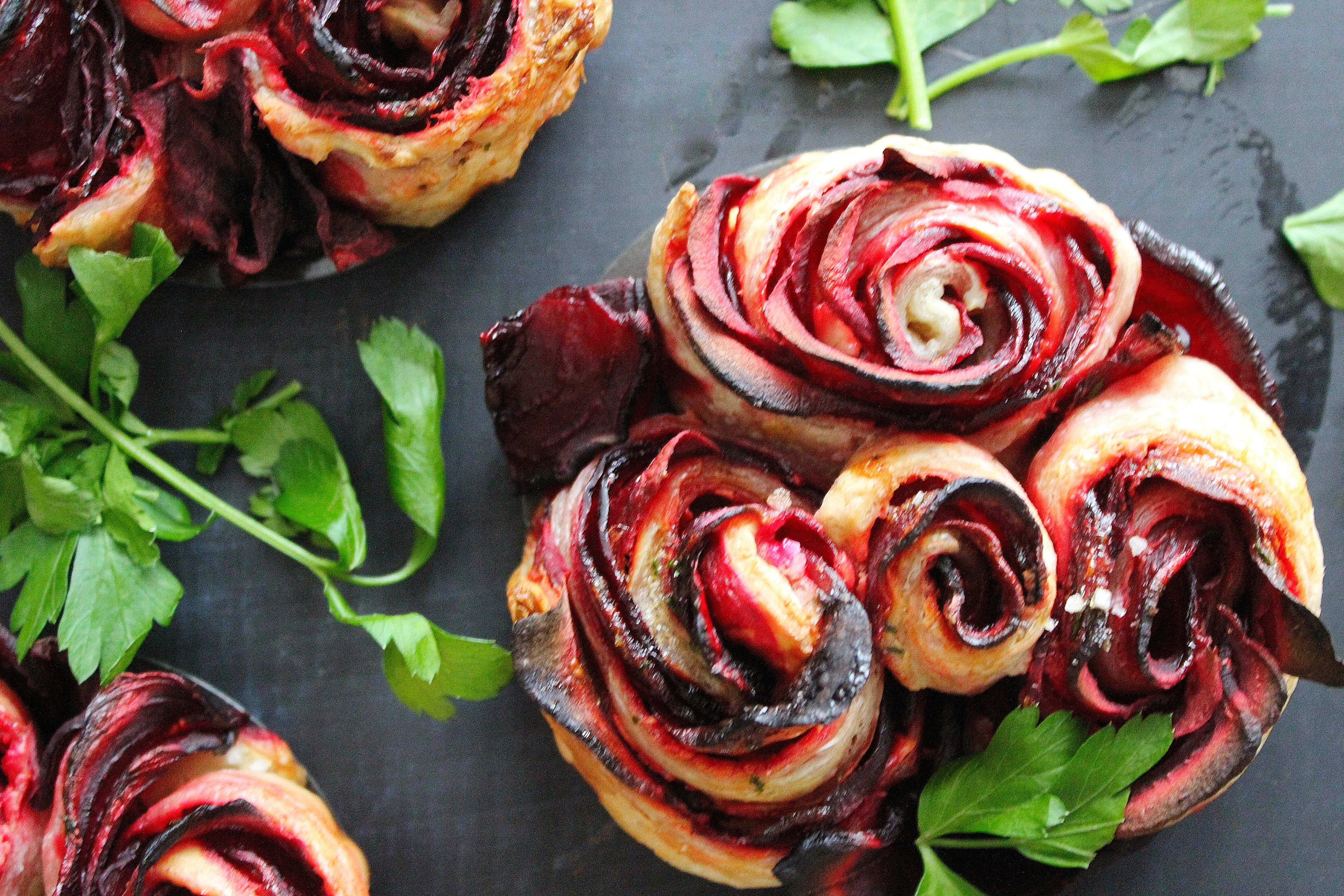 beet roses