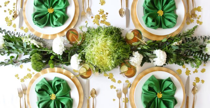 A Healthy Shamrockin' Spread for St. Patrick's Day