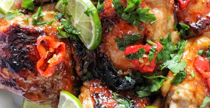 Sweet Heat Lime Chili Chicken