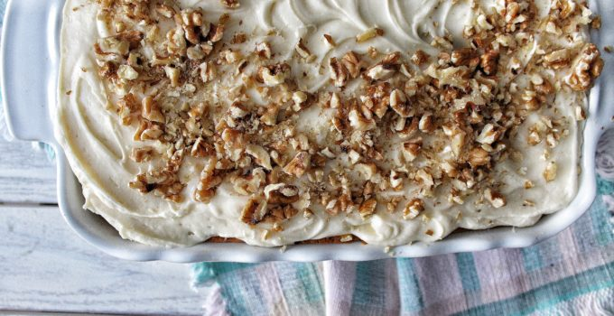 Best Banana Cake Ever with Cream Cheese Frosting