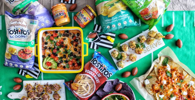 Five Game Day Drool Worthy Recipes with Tostitos Canada