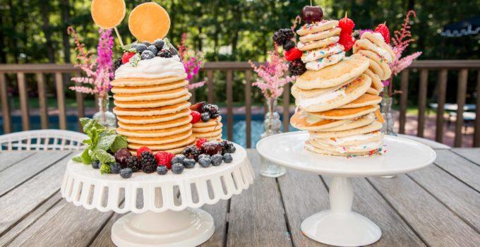 Pancake Cakes with Chef Luke