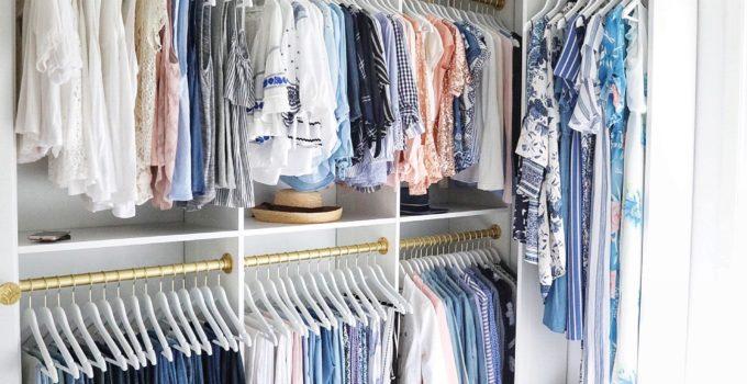 A Simply Beautiful Walk-in Closet