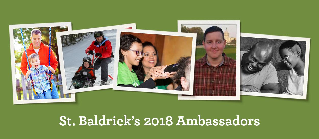 Collage of images showcasing St. Baldrick's 2018 Ambassadors.