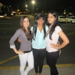 Vishwaja Muppa, Stony Brook University student, was killed in a car accident early morning on Tuesday, Oct. 30 at the intersection of Route 347 and Route 112 in a Hurricane Sandy related accident. Muppa is pictured above center with her friends. Photo courtesy of Jaspreet Benipal.