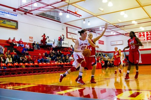 Snow had a career-high 30 points on Wednesday during the Seawolves victory against Bradley. Photo by Efal Sayed