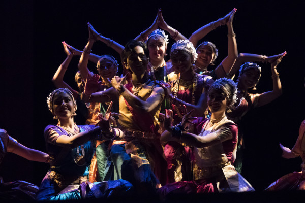 The Taandava dance group performed different types of classical Indian dances, which included Bharatanatyam, Kathak and Kuchipudi during the event. BASIL JOHN / THE STATESMAN