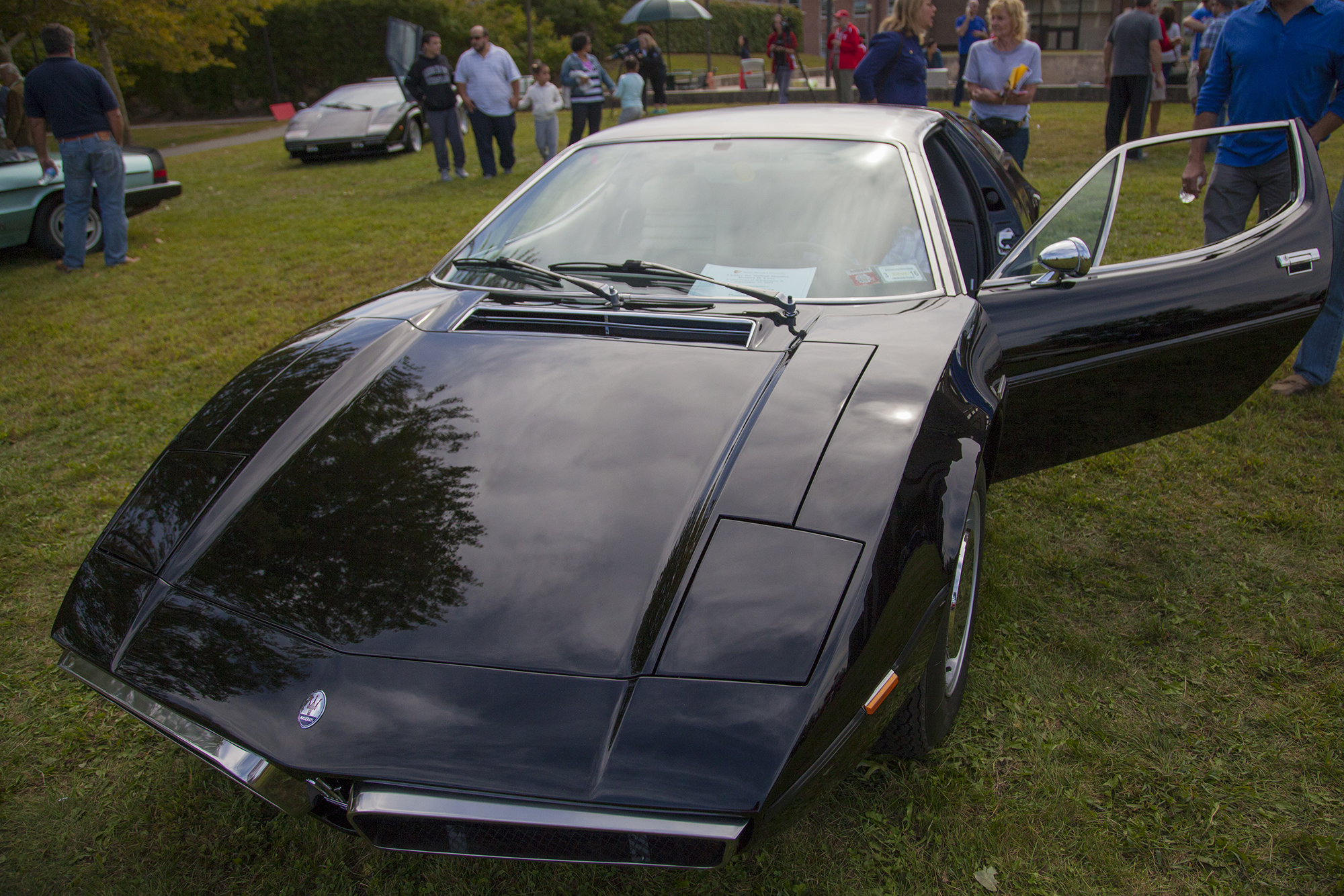 A 1972 Maserati Bora at the Concorso d'Eleganza X. GISELLE MIRANDA/THE STATESMAN